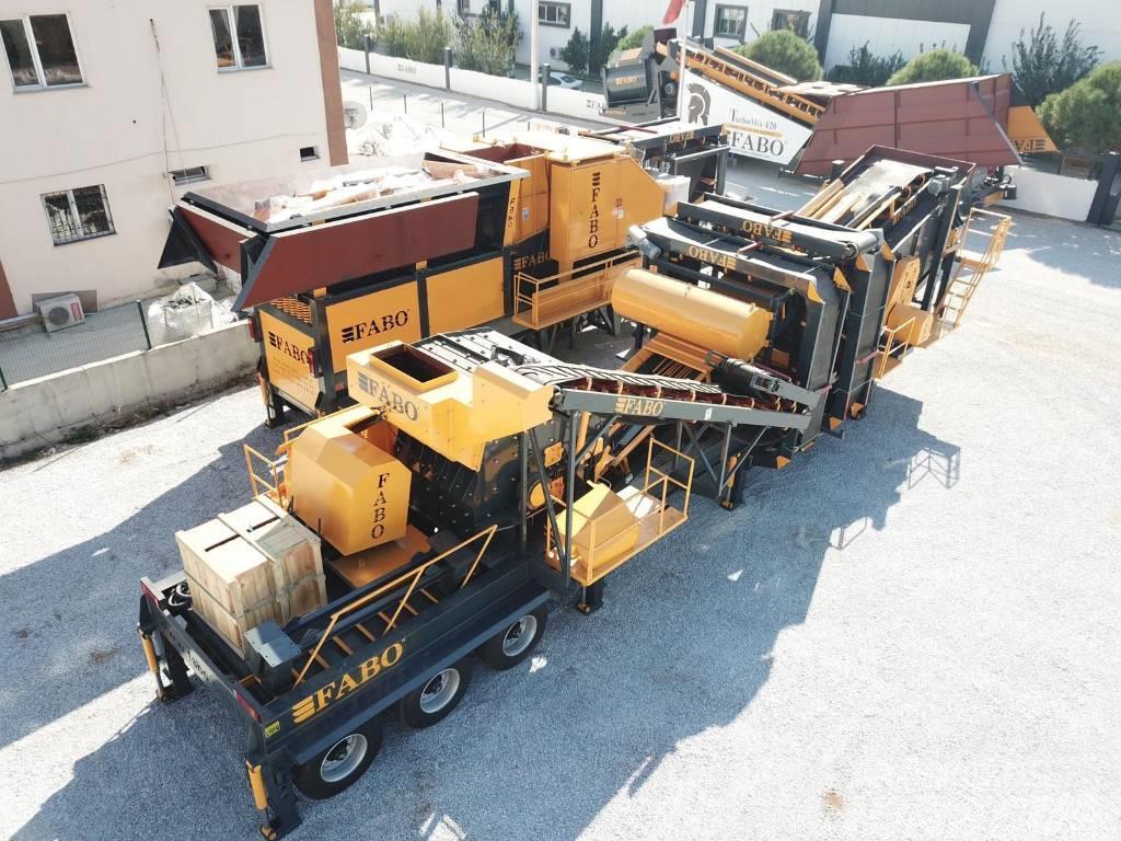 Fabo FULLSTAR-90 Unité de concassage et de criblage
