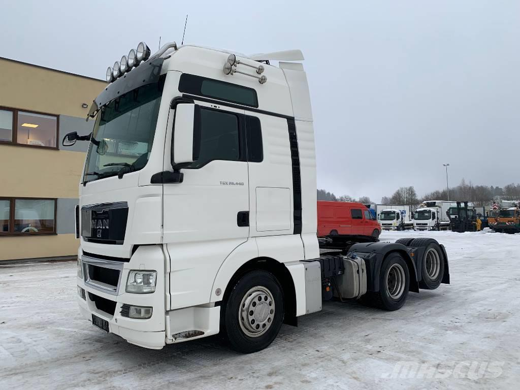 MAN TGX 28.440 6x2+RETARDER+AUTOMATIC