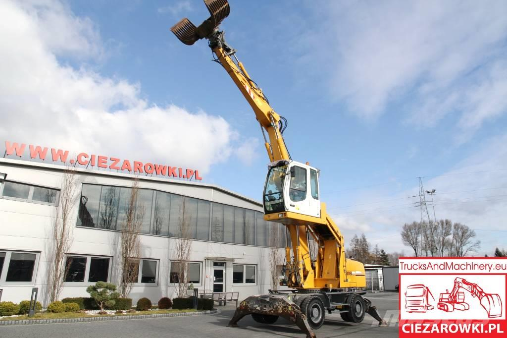 Liebherr 21 T / A 316 LITRONIC /Material handler / lift cab