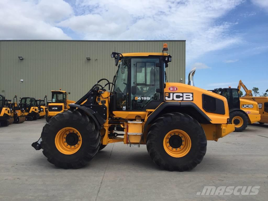 JCB 419 S - Wheel loaders, Year of manufacture: 2019 - Mascus UK
