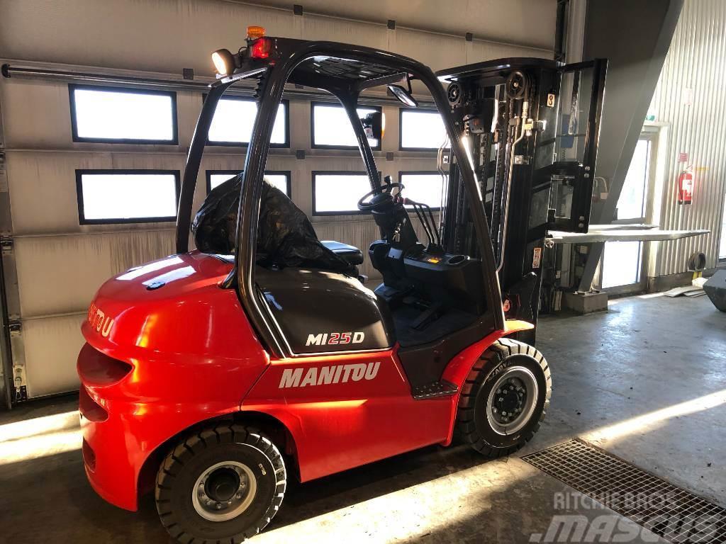 Manitou Mi25D 2,5ton dieseltruck 225.000:-