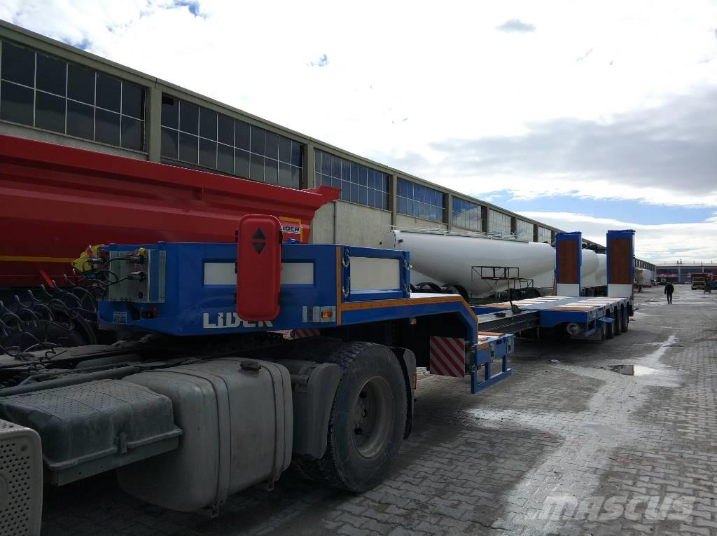 Lider Extendable 4 axle lowbed