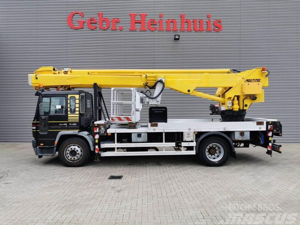 Volvo FL 250 4x2 Multitel J335 ALU EX 35 meter!