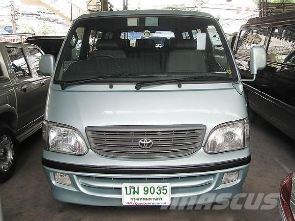Toyota HIACE COMMUTER (หลังคาเตี้ย) 3.0