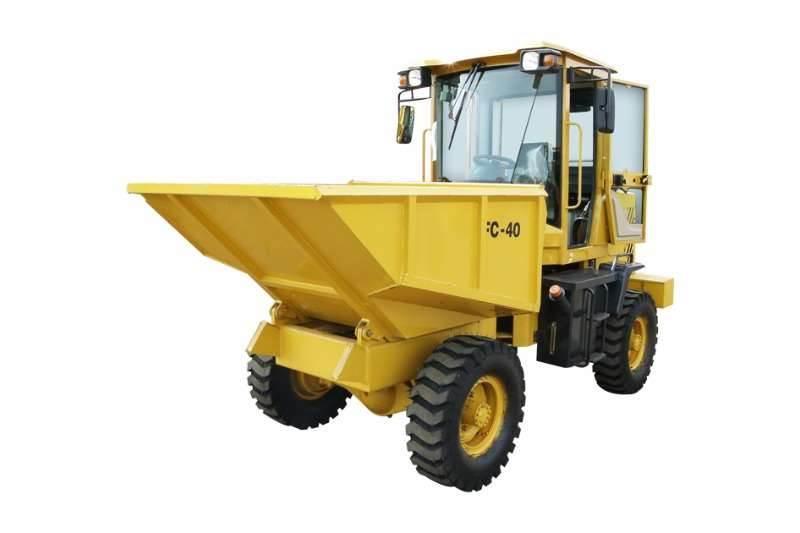 Sino Plant 4 Ton 4x4 Dumper with Hydraulic Tip (Closed