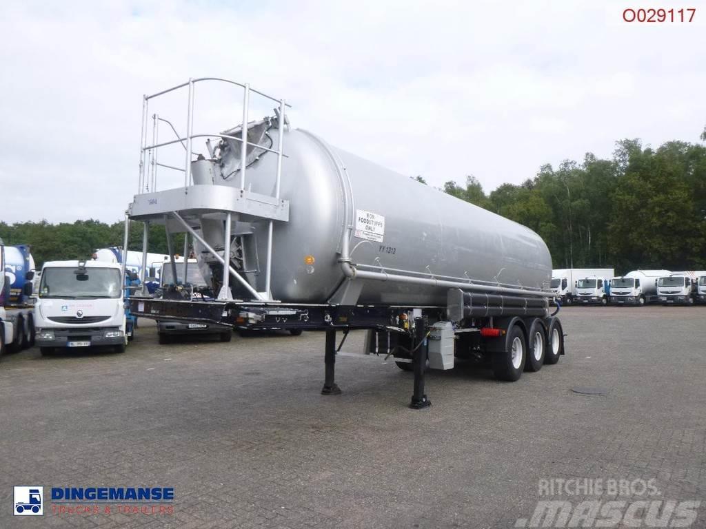 Feldbinder Powder / sugar tank alu 38 m3 (tipping)