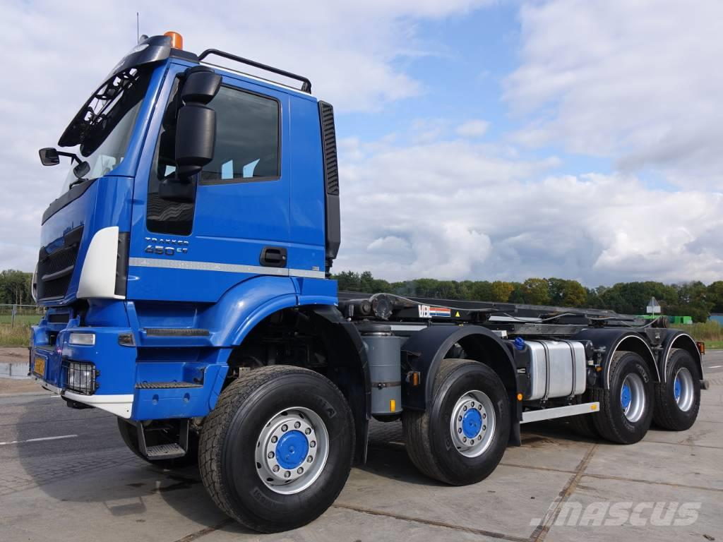 Iveco Trakker 450 8 x 8 / 30 tons container system