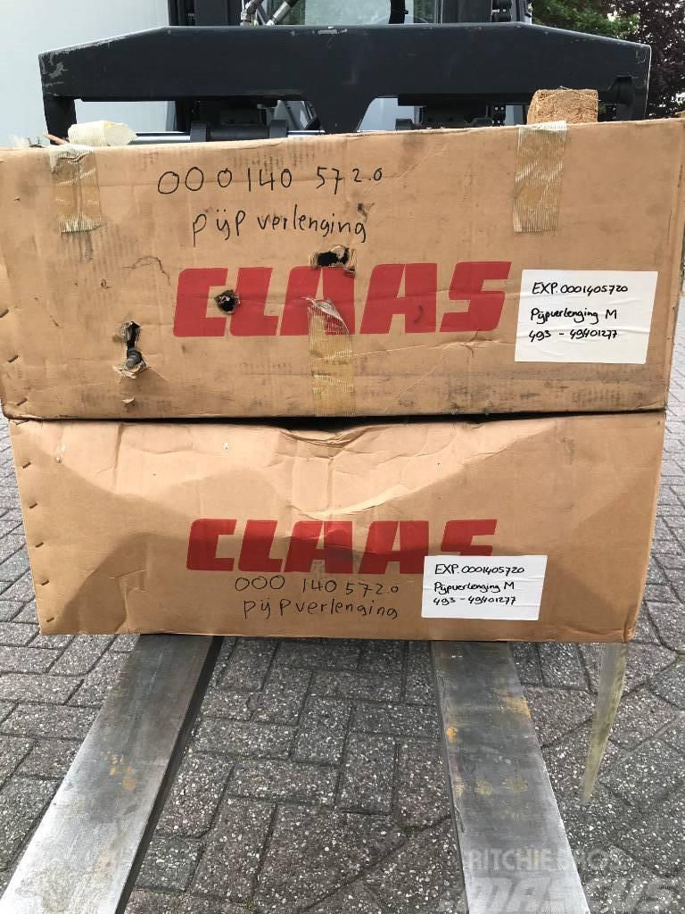 CLAAS JAGUAR 493 & 494 pijpverlenging M