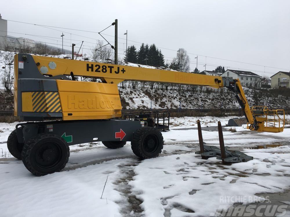Haulotte H28TJ+ Diesel 4x4, 28m boom lift, 6m Jib, 3 units