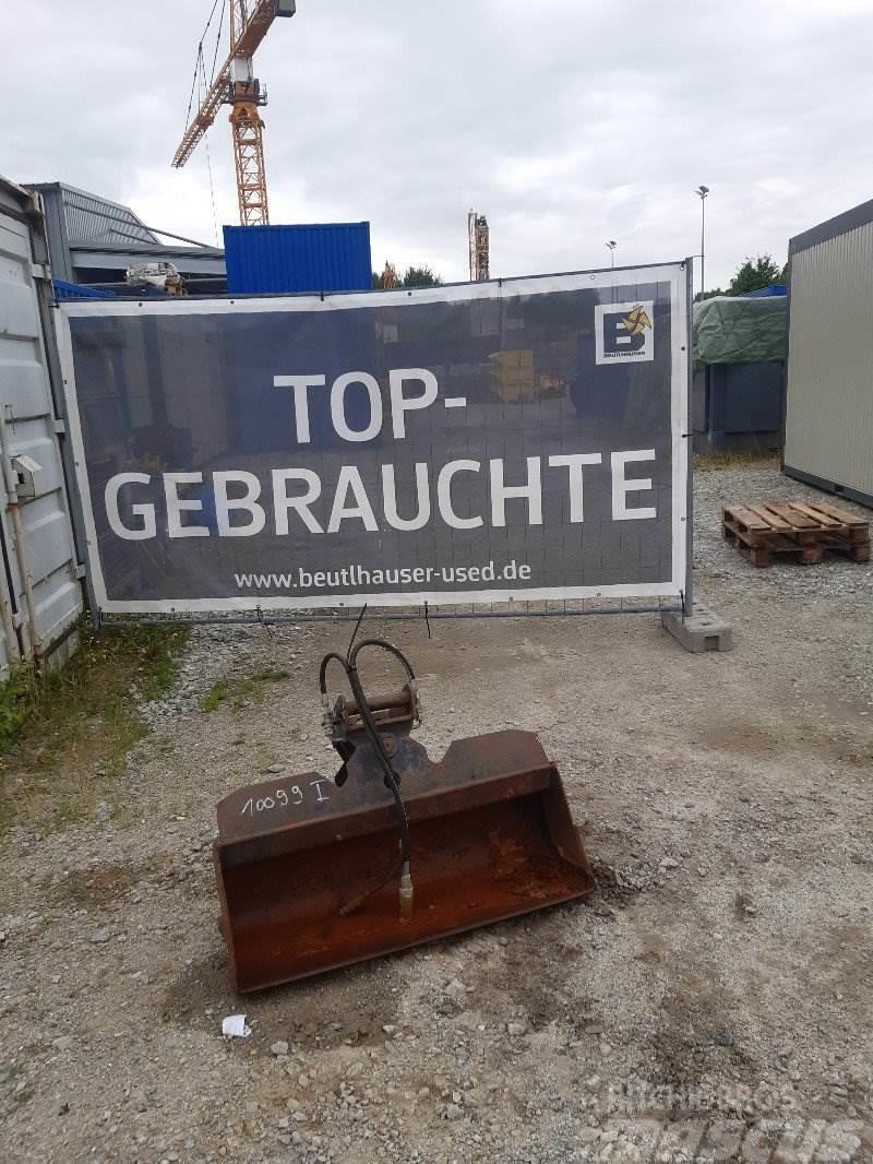 Liebherr Grabenräumlöffel 100mm MS01 schwenkbar