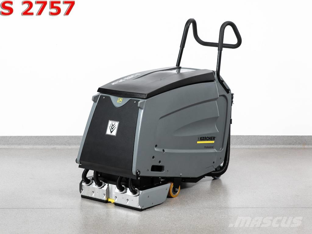 KARCHER SCRUBBER FOR MOVING STAIRS KARCHER BR 47/35 ESC / 58mth / 2017year