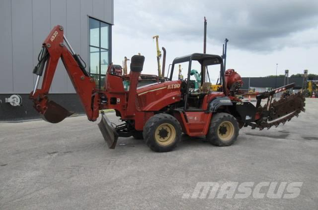 Ditch Witch RT 90 H Trencher Plough