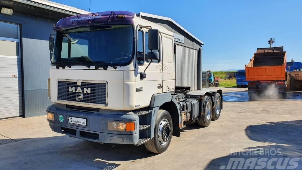 MAN 26.463 6X4 tractor unit - perfect