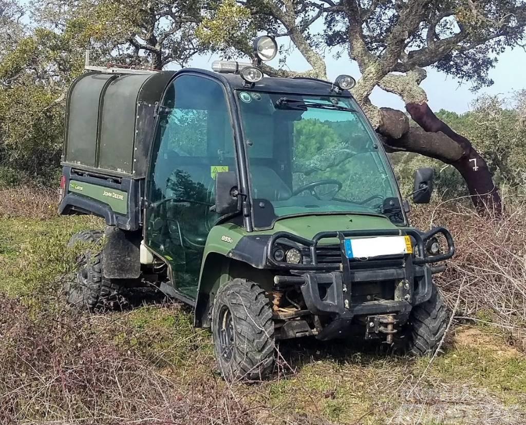 used john deere gator 855 tractors year 2012 price. Black Bedroom Furniture Sets. Home Design Ideas