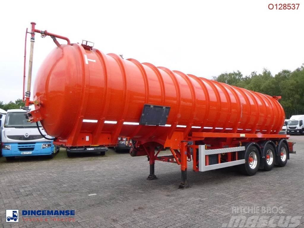 Crossland Vacuum tank alu 33 m3 / 1 comp