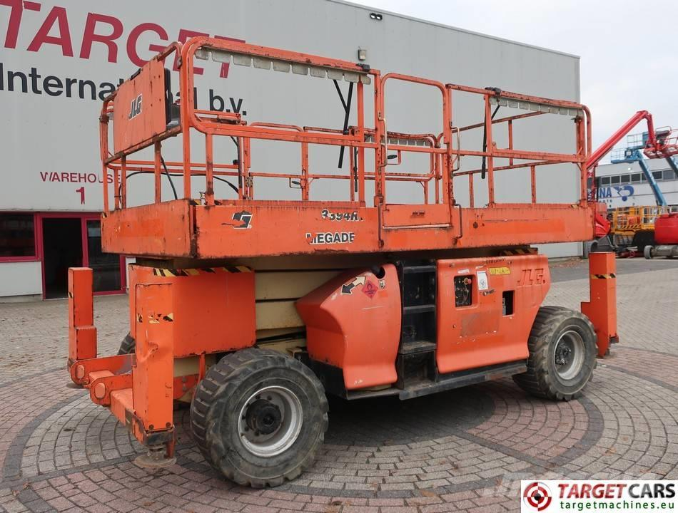 JLG 3394RT Diesel 4x4 Scissor Work Lift 1206cm