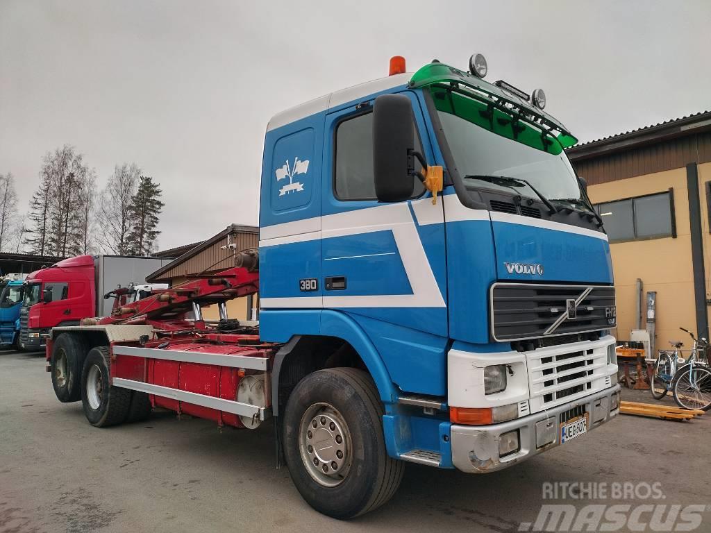 Volvo FH12 6x2 rautajouset, vaijerilaite