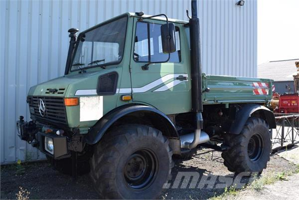 Used Mercedes-Benz -unimog-u-1200 tractors Year: 1992 Price: $26,091 ...