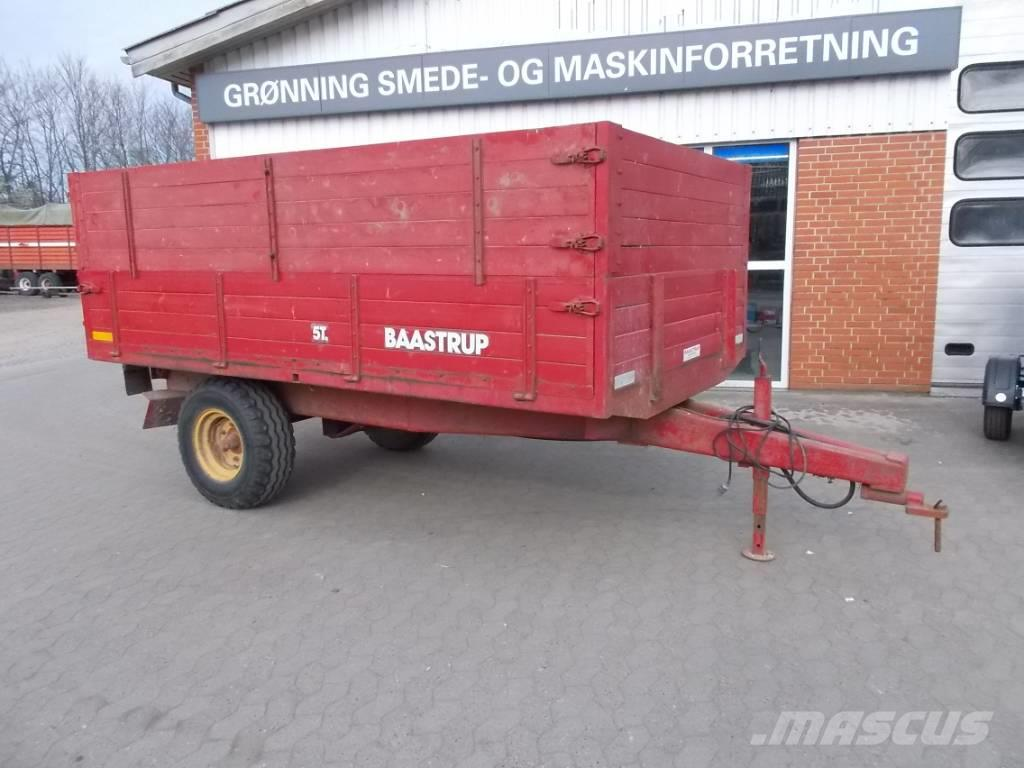Baastrup 5 ton tipvogn