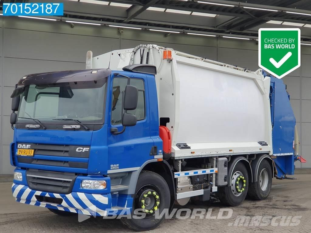 DAF CF75.250 6X2 NL-Truck Lenkachse Euro 5 Geesink Auf