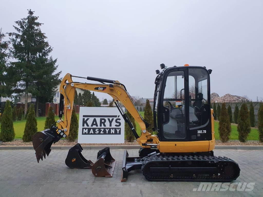 Caterpillar 302.7 D CR 303 2020r. 80 MTG JCB BOBCAT