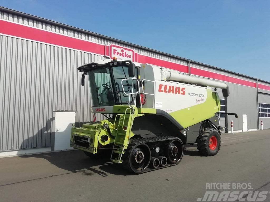 CLAAS Lexion 570 TT 4WD