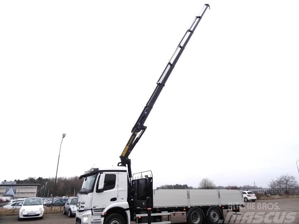 Mercedes-Benz Antos 2532 L Brädgårdsbil, 2019, Boom / Crane / Bucket Trucks  ...