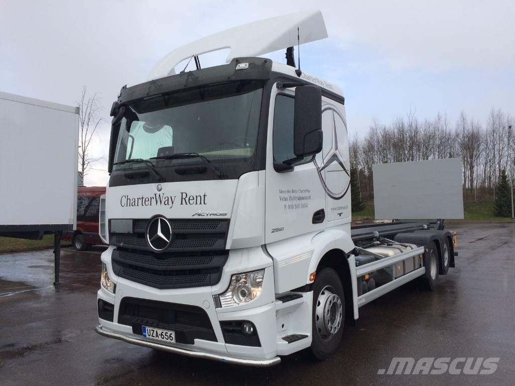 Mercedes benz actros 2551 container frame trucks for for Mercedes benz astros