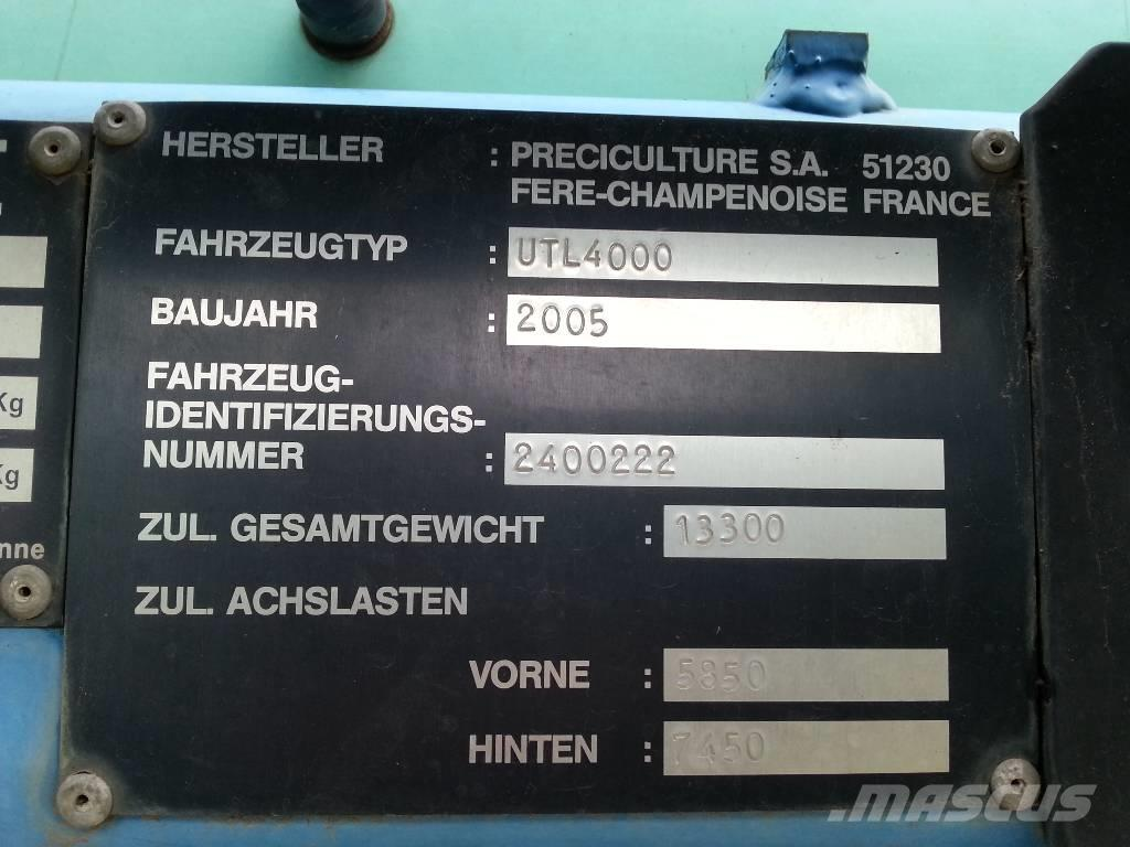 Berthoud Boxer UTL 4000, 2005, Växtskyddsprutor