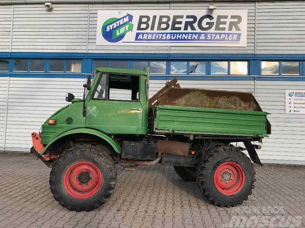 Used Mercedes-Benz Unimog 406 / Kipper / Frontlader ...