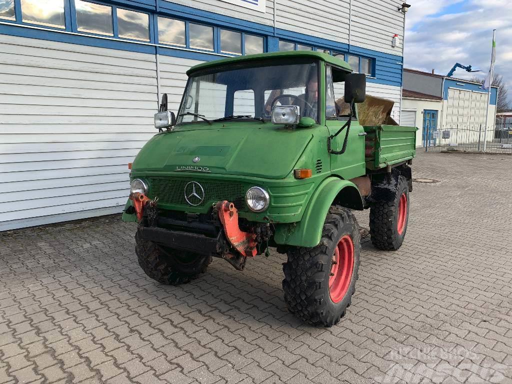 Mercedes-Benz Unimog 406 / Kipper / Frontlader 84069 ...