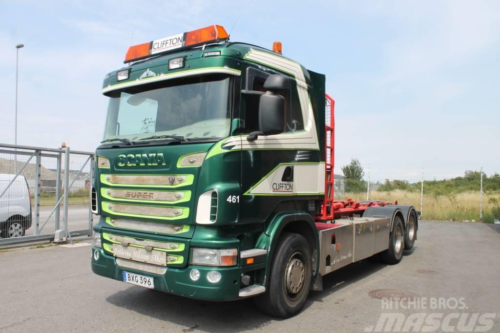 Scania R400LB 6X2 HSZ  EURO 5