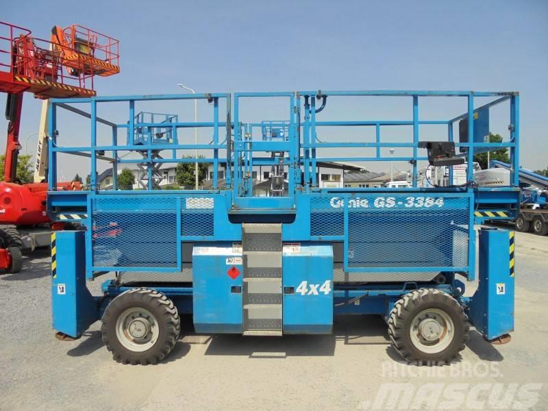 Genie GS 3384 RT MEGADECK diesel 4x4 12.00m