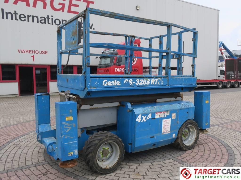 Genie GS3268RT Diesel 4x4 Scissor Worklift 1175cm