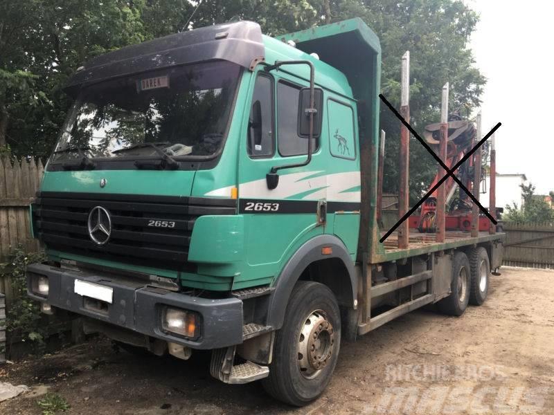 Mercedes Benz Sk 2653 1998 Cab Chis Trucks