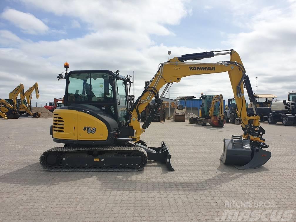 Yanmar SV60 - Mini excavators < 7t (Mini diggers), Year of