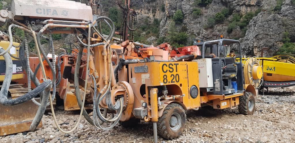 Cifa CST8.2 shotcrete pump