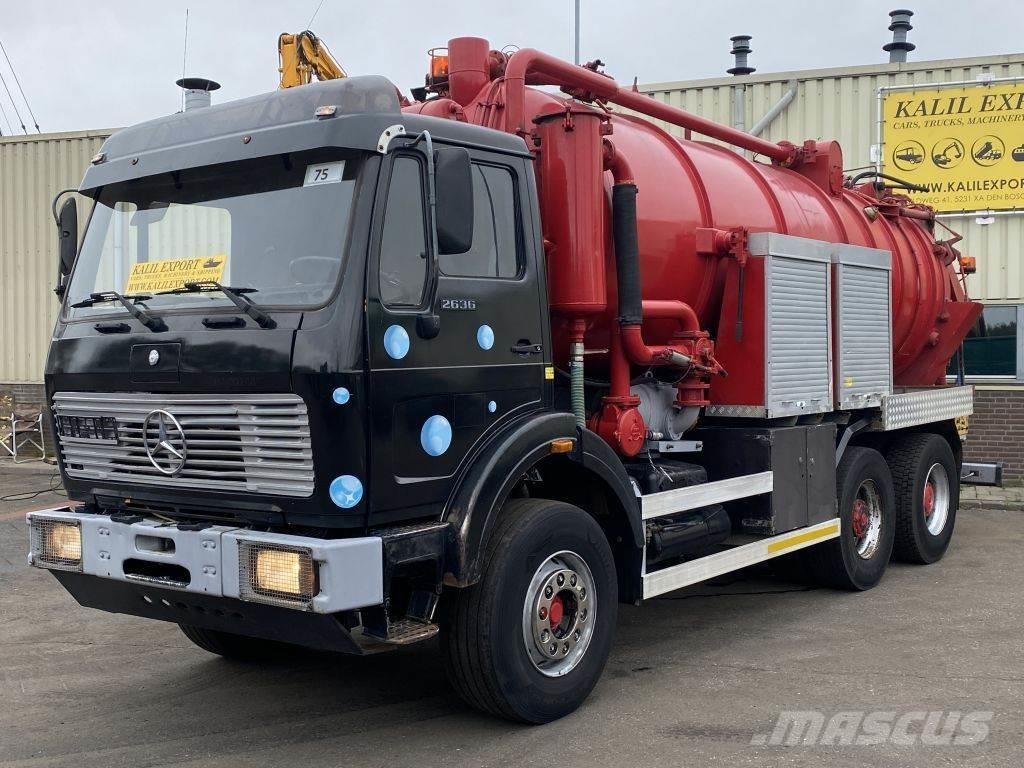 Mercedes-Benz 2636 Vacuum Toilet 20.000L 6x4 V10 Good Condition