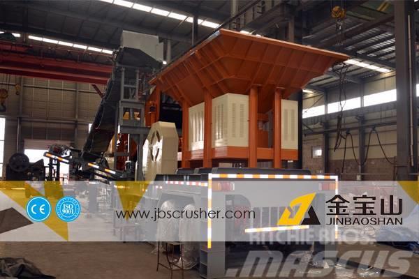 JBS 30-40 tph Mobile Stone Crusher Plant