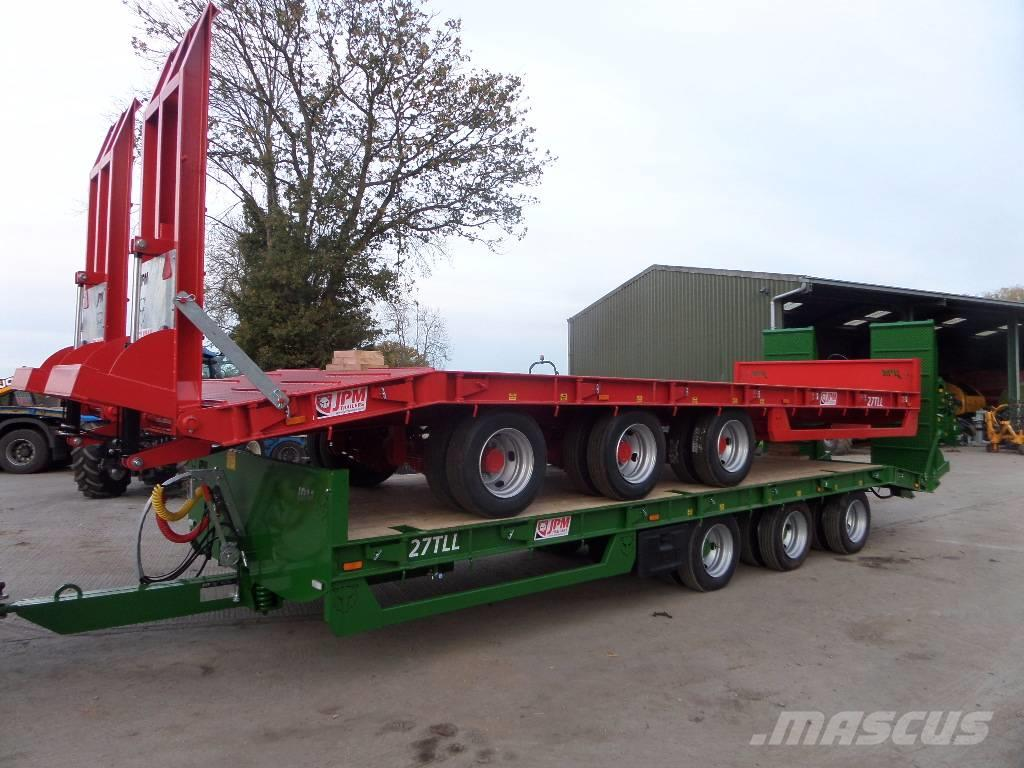 JPM 27ft tri axle low loader