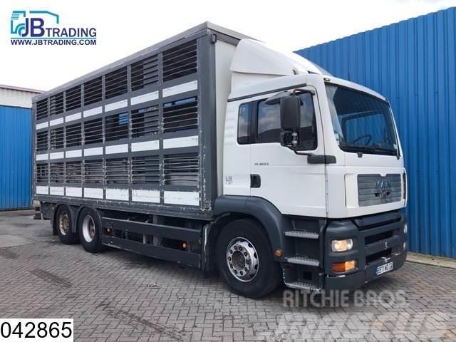 MAN TGA 26 360 6x2, EURO 2, Retarder, Animal transport