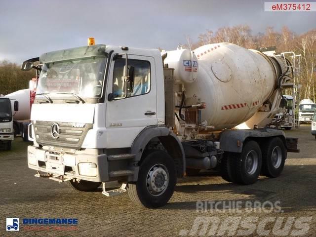 Mercedes-Benz Axor 2633 6x4 Cifa mixer 8 m3