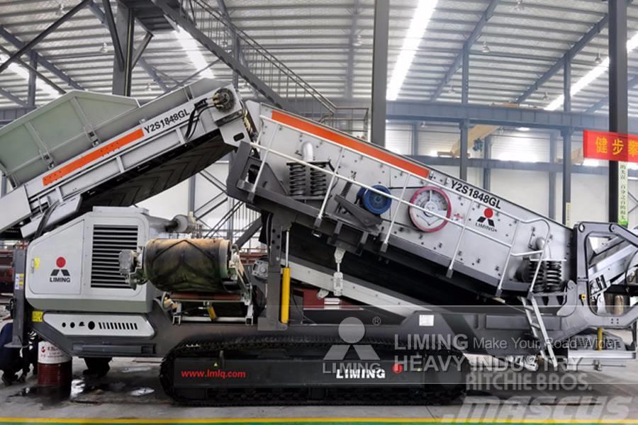Liming Crawler type Mobile Crushing Plant