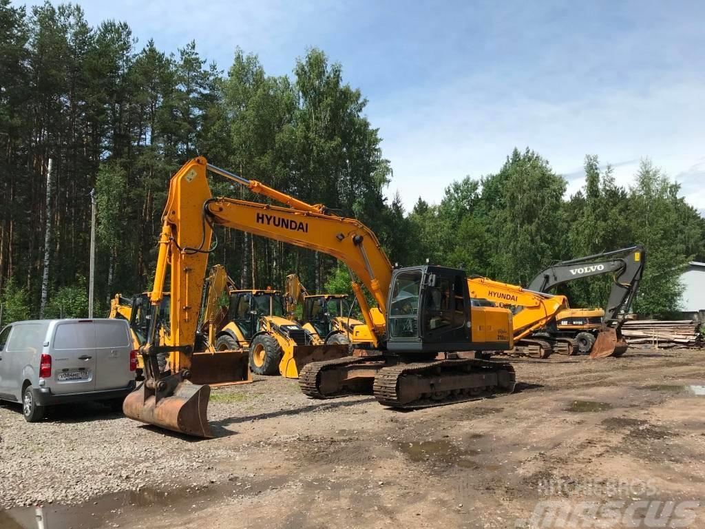 Hyundai Robex 210 LC-7, 2013, Crawler Excavators ...