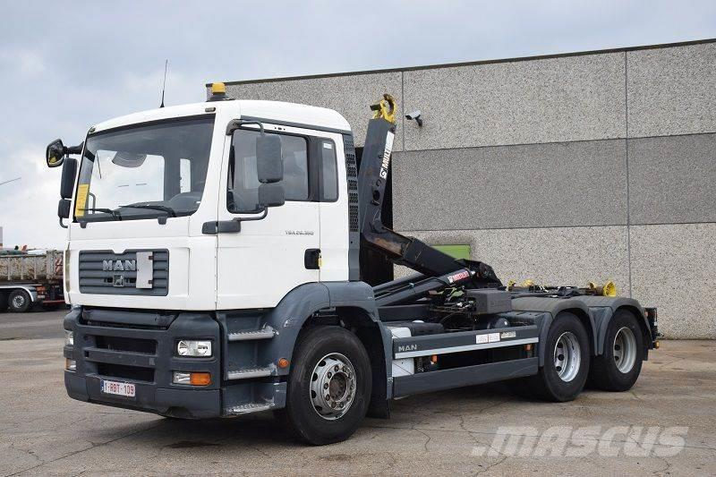 MAN TGA 26.360 6X4 CONTAINER SYSTEEM- CONTAINER SISTEE
