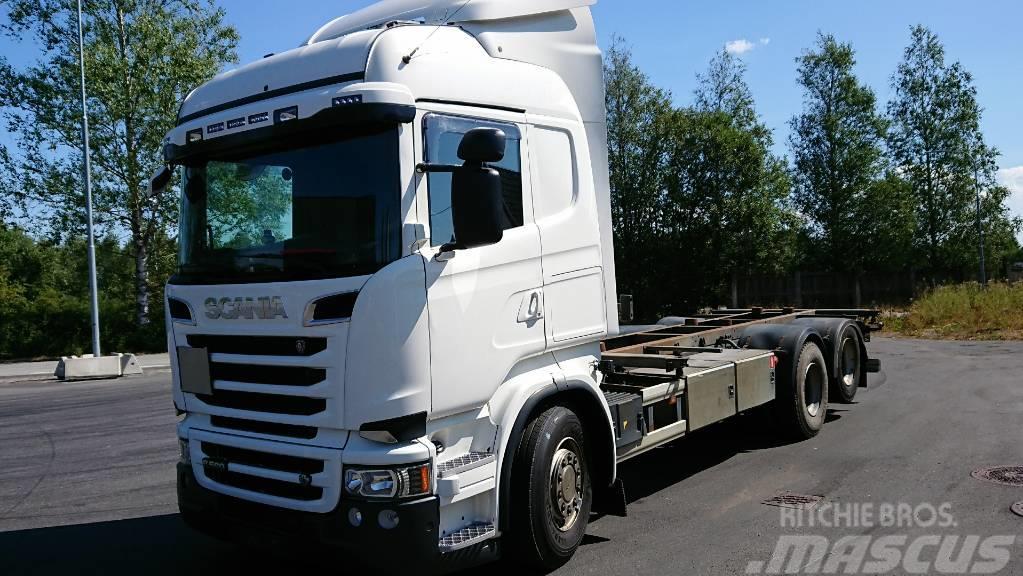 Scania R560LB6X2HNB EURO 5+RETARDER