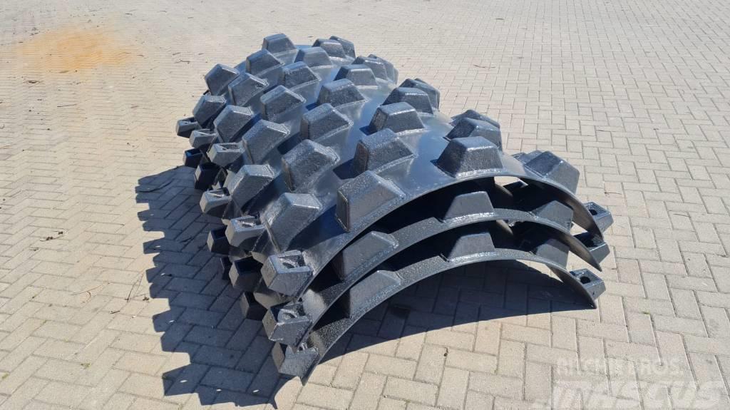 Bomag padfoot shell 210xRadius151cm