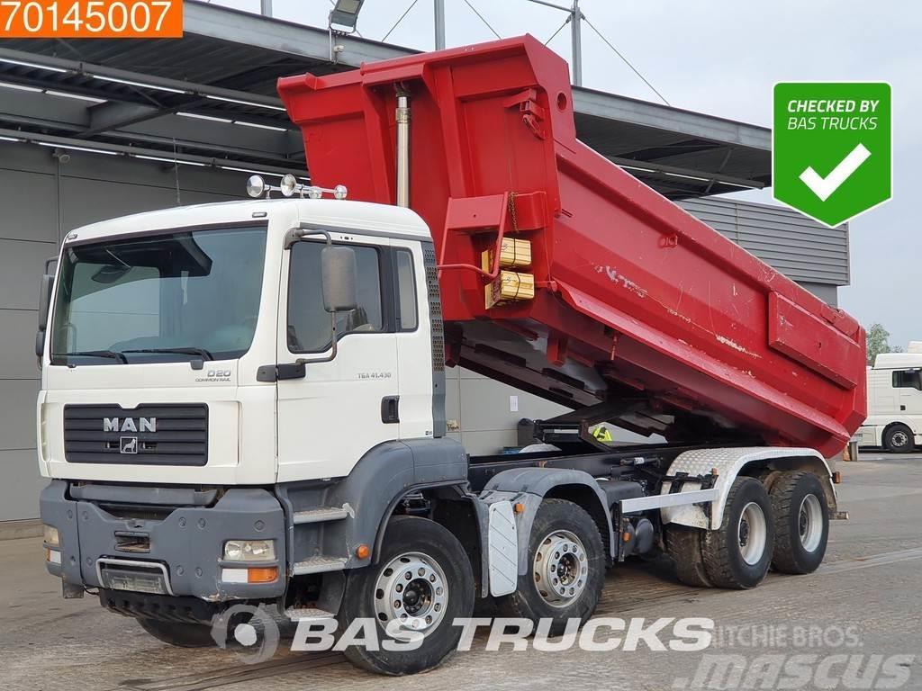 MAN TGA 41.430 8X4 Big-Axle Kipper 19m3 Manual Euro 3