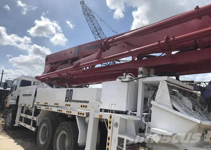 Isuzu PM concrete pump HOT SALE AND HIGH QUALITY