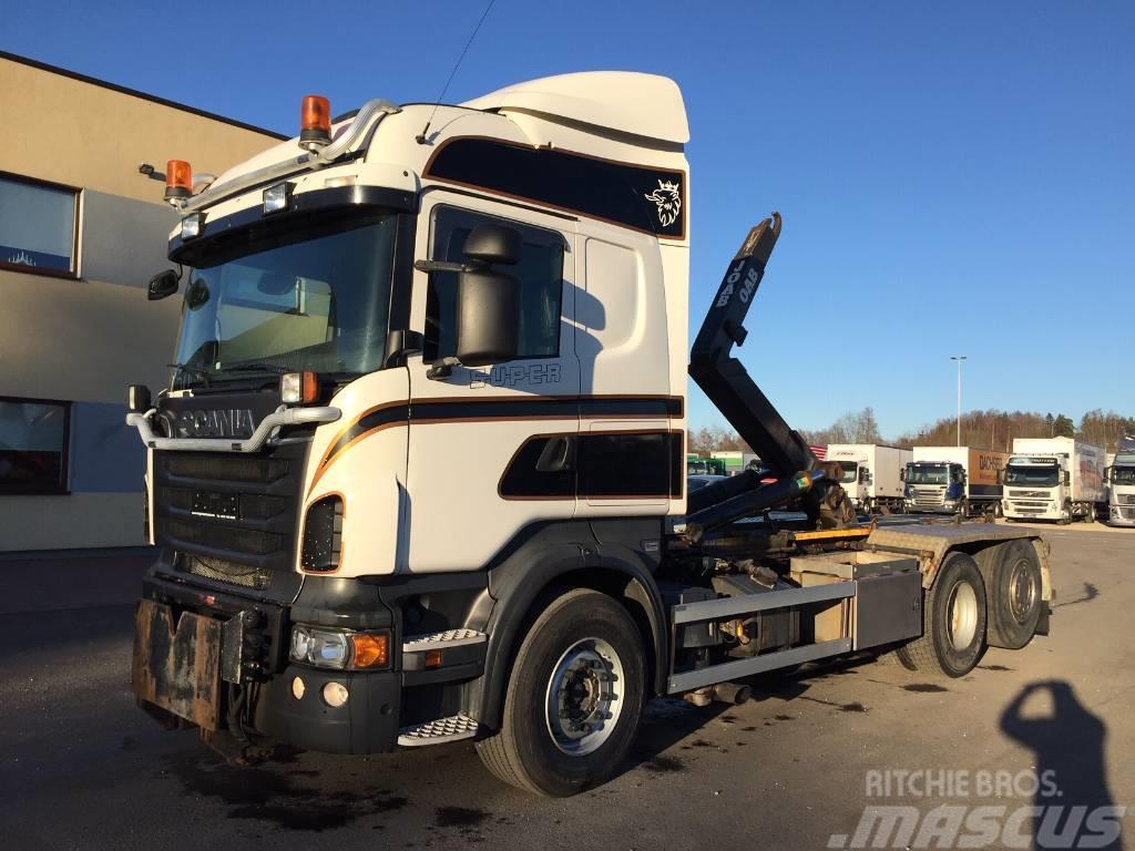Scania R560 6x2+RETARDER+JOAB LIFT 20t
